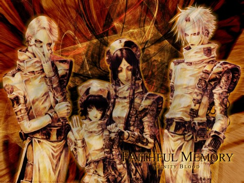 Gonzo, Trinity Blood, Seth Nightroad Wallpaper