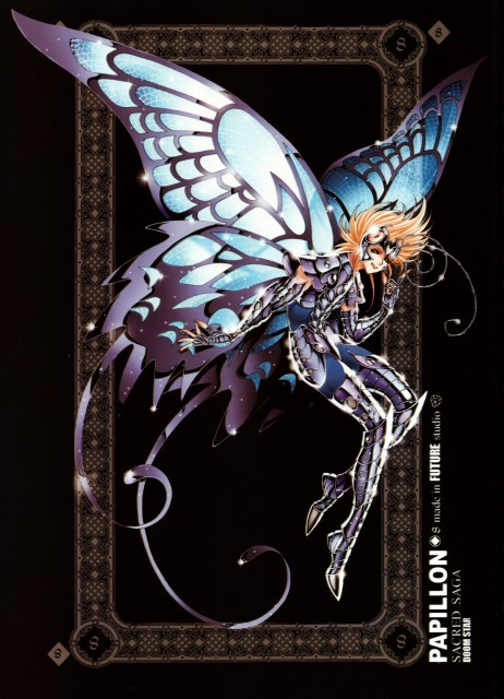 Future Studio, Saint Seiya, Sacred Saga, Papillon Myu