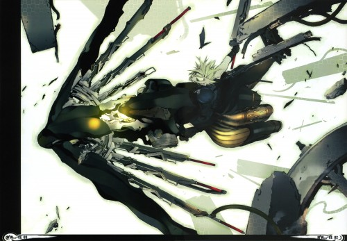 Miwa Shirow, Final Fantasy VII: Advent Children, Cloud Strife, Doujinshi