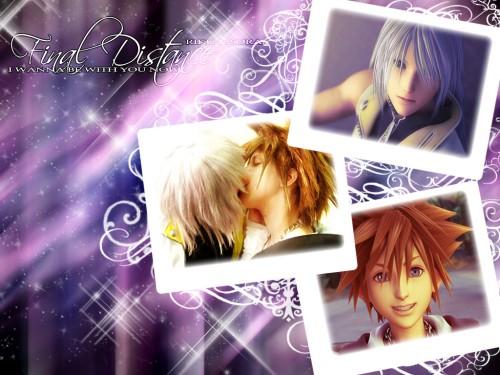 Square Enix, Kingdom Hearts, Riku, Sora Wallpaper