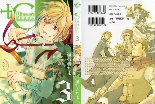 Tama Yugyoji, +C: Sword and Cornett, Musca Noctircus, Linna Dzintars Orhaldi, Manga Cover