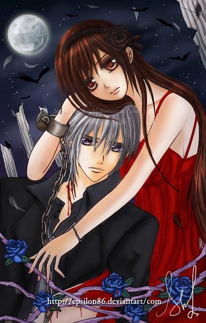 Vampire Knight, Yuuki Cross, Zero Kiryuu, Member Art