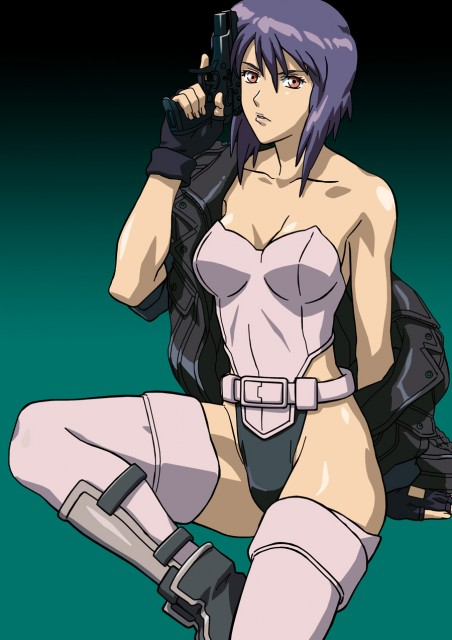 Masamune Shirow, Ghost in the Shell, Motoko Kusanagi, Vector Art