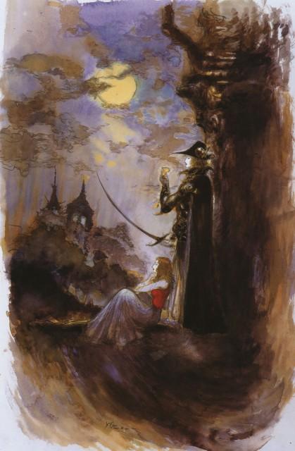 Yoshitaka Amano, Vampire Hunter D, Coffin: The Art of Vampire Hunter D, D (Vampire Hunter D), Doris Lang