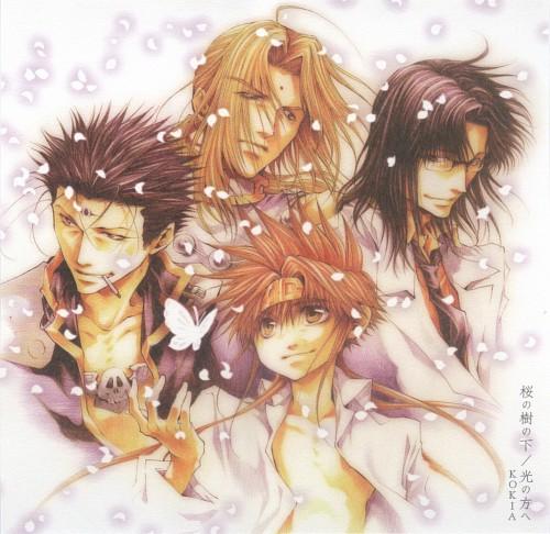 Kazuya Minekura, Saiyuki Gaiden, Son Goku (Saiyuki), Kenren Taishou, Tenpou Gensui