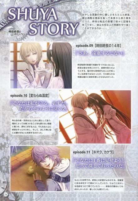 Nagaoka, Idea Factory, Clock Zero Official Visual Fan Book, Clock Zero, Nadeshiko Kurou