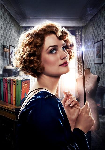Warner Bros., Fantastic Beasts, Queenie Goldstein, Pin-up Poster