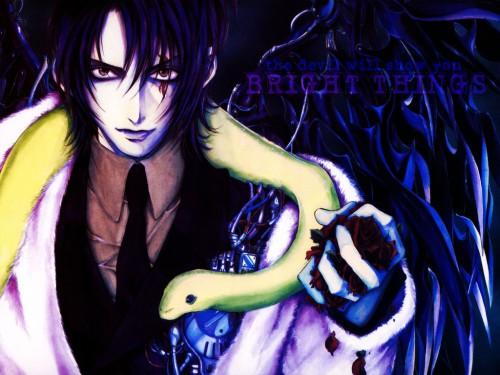 Kaori Yuki, Angel Sanctuary, Lucifer (Angel Sanctuary) Wallpaper