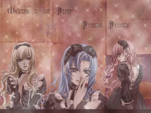 Tsuda Mikiyo, Studio DEEN, Princess Princess, Yuujiro Shihoudani, Mikoto Yutaka Wallpaper