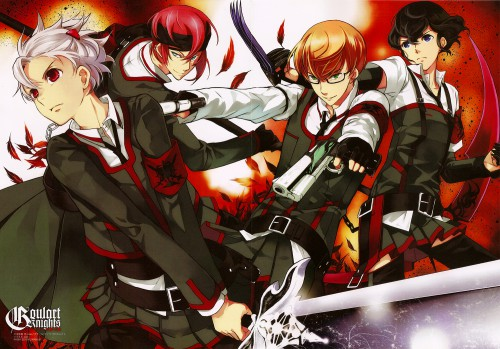 Sion (Mangaka), Studio Blanc, Goulart Knights, Aoi Hokuto, Regulus Emrode