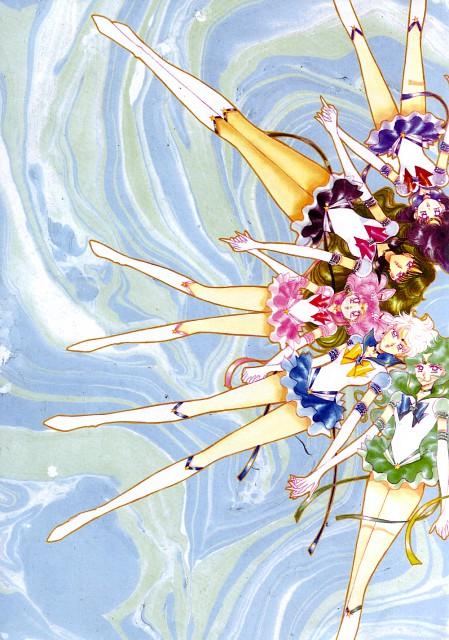 Naoko Takeuchi, Bishoujo Senshi Sailor Moon, Eternal Sailor Saturn, Eternal Sailor Pluto, Eternal Sailor Chibi Moon
