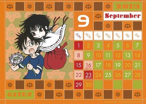 CLAMP, GATE 7, CLAMP Calendar 2013, Chikahito Takamoto, Hana (GATE 7)