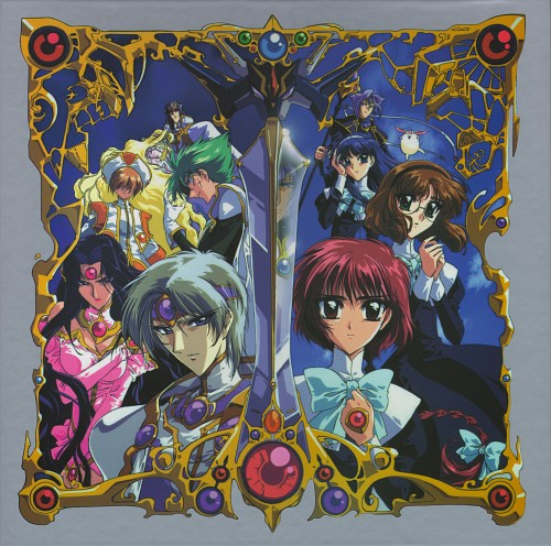 TMS Entertainment, Magic Knight Rayearth, Emeraude, Fuu Hououji, Mokona