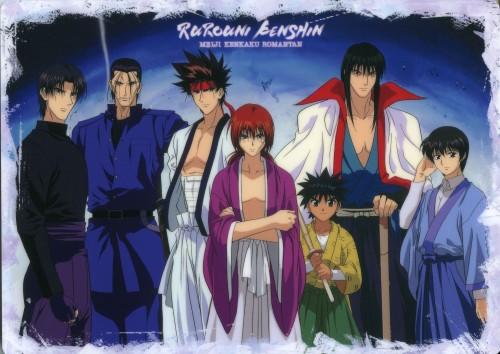 Nobuhiro Watsuki, Studio Deen, Studio Gallop, Rurouni Kenshin, Aoshi Shinomori