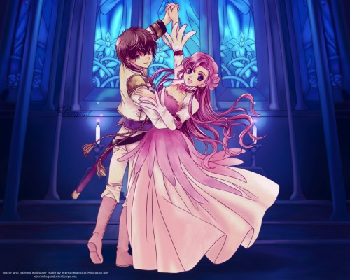 You Kousaka, Lelouch of the Rebellion, Suzaku Kururugi, Euphemia Li Britannia Wallpaper