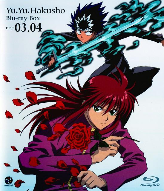 Studio Pierrot, Yuu Yuu Hakusho, Hiei, Kurama, DVD Cover