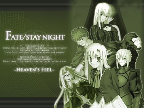 TYPE-MOON, Fate/stay night, Sakura Matou, Rider (Fate/stay night), Saber Alter Wallpaper