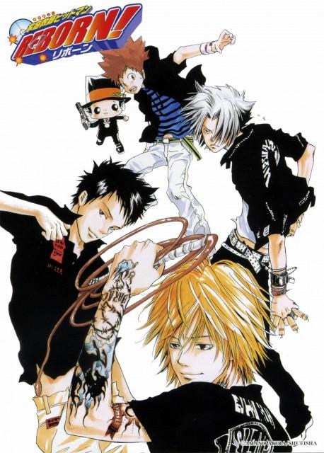 Akira Amano, Katekyo Hitman Reborn!, Takeshi Yamamoto, Hayato Gokudera, Dino Cavallone