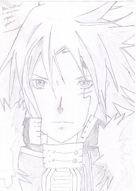 D Gray-Man, Allen Walker, Member Art