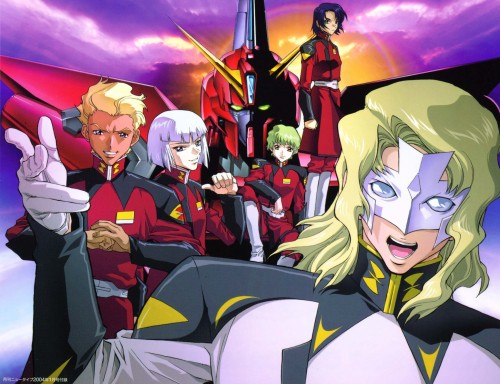 Sunrise (Studio), Mobile Suit Gundam SEED, Nicol Amalfi, Athrun Zala, Yzak Joule