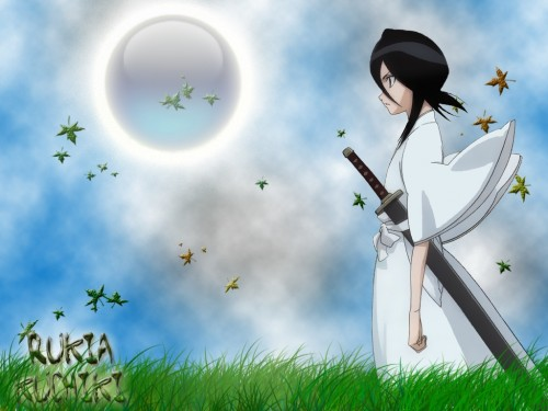 Kubo Tite, Studio Pierrot, Bleach, Sode no Shirayuki, Rukia Kuchiki Wallpaper
