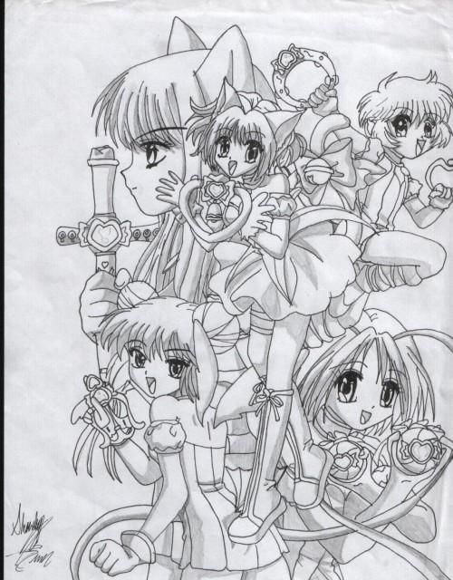 Studio Pierrot, Tokyo Mew Mew, Ichigo Momomiya, Zakuro Fujiwara, Mint Aizawa