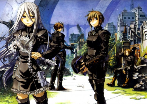 Miyuu, Zexcs, Chrome Shelled Regios, Nina Antalk, Felli Loss