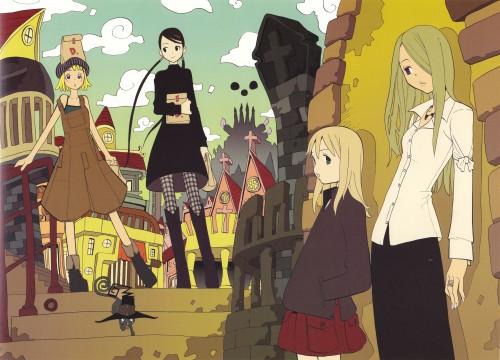 Atsushi Okubo, Soul Eater, Soul Art, Tsubaki Nakatsukasa, Blair