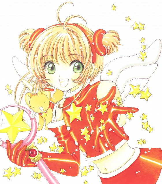 CLAMP, Cardcaptor Sakura, Cardcaptor Sakura Illustrations Collection 3, Keroberos, Sakura Kinomoto
