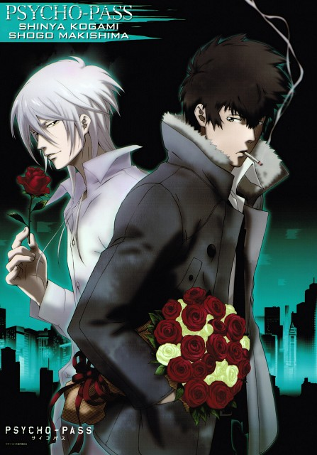 Akira Amano, Production I.G, PSYCHO-PASS, Shougo Makishima, Shinya Kougami