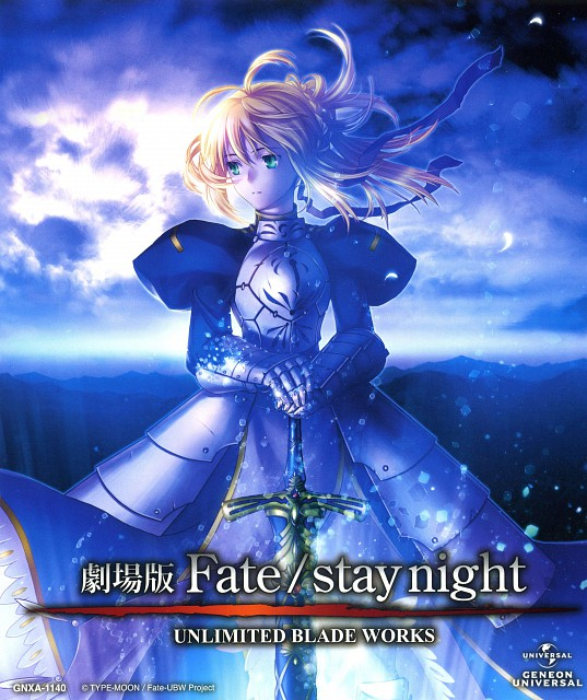 Studio DEEN, TYPE-MOON, Fate/stay night, Saber, Album Cover