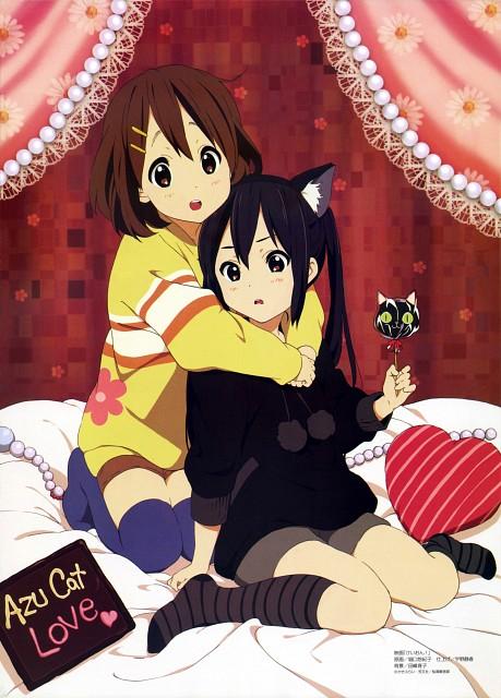 Yukiko Horiguchi, Kyoto Animation, K-On!, Yui Hirasawa, Azusa Nakano