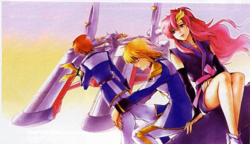 Chimaki Kuori, Sunrise (Studio), Mobile Suit Gundam SEED Destiny, Lacus Clyne, Cagalli Yula Athha