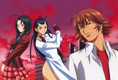 Rin Sin, J.C. Staff, Ikkitousen, Moutoku Sousou, Kakouen Myousai