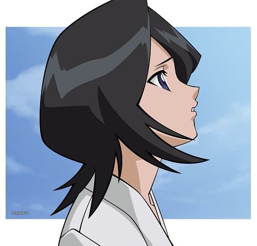 Studio Pierrot, Bleach, Rukia Kuchiki, Vector Art