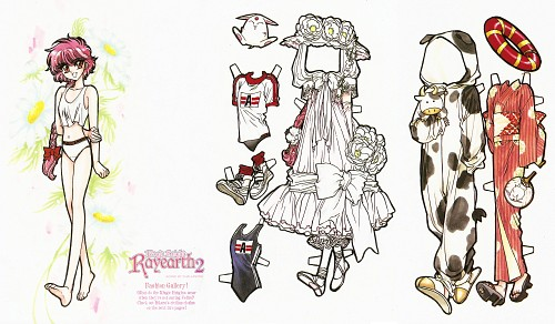 CLAMP, TMS Entertainment, Magic Knight Rayearth, Hikaru Shidou, Paper Dolls