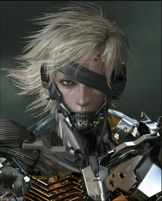 Konami, Metal Gear Solid, Raiden