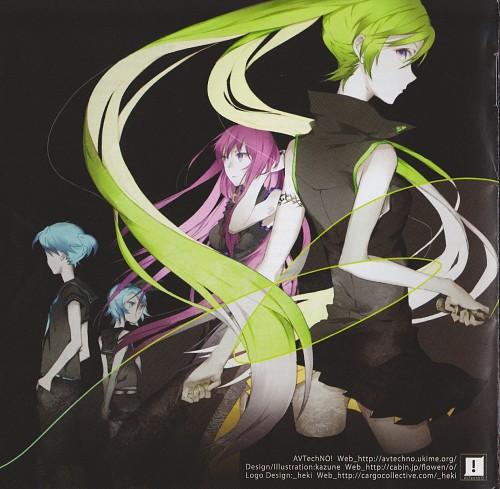 Kazune, Vocaloid, Rin Kagamine, Len Kagamine, Miku Hatsune
