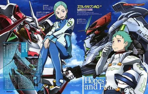 Tsuyoshi Yoshioka, BONES, Eureka 7: Astral Ocean, Eureka 7, Ao Fukai
