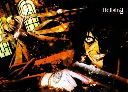 Kouta Hirano, Geneon/Pioneer, Hellsing, Alexander Anderson, Alucard