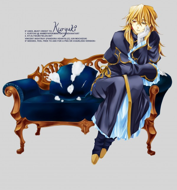 Jun Mochizuki, Pandora Hearts, Vincent Nightray, Vector Art