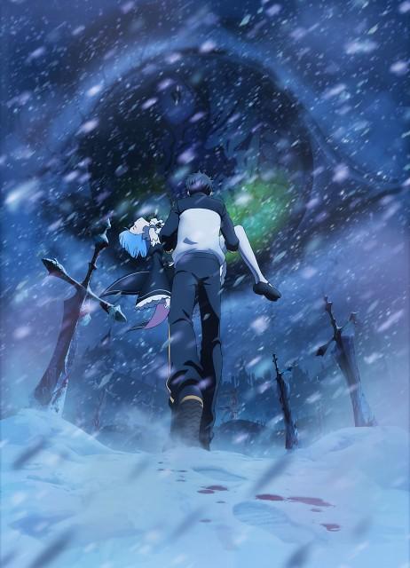 White Fox, Re:Zero, Rem (Re:Zero), Subaru Natsuki, Emilia (Re:Zero)