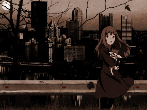 Chika Umino, Production I.G, Eden of the East, Saki Morimi, Angelika Wallpaper