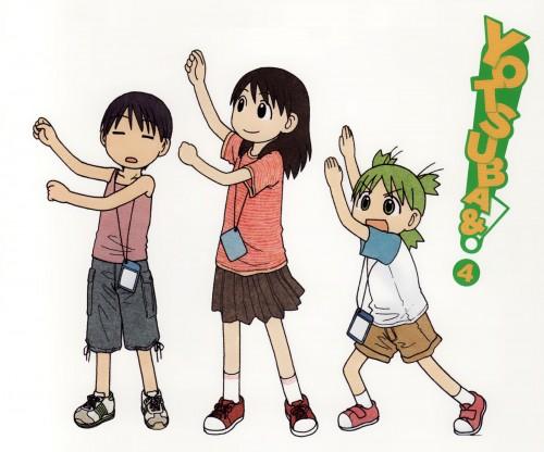 Kiyohiko Azuma, Yotsubato!, Ena Ayase, Miura Hayasaka, Yotsuba Koiwai
