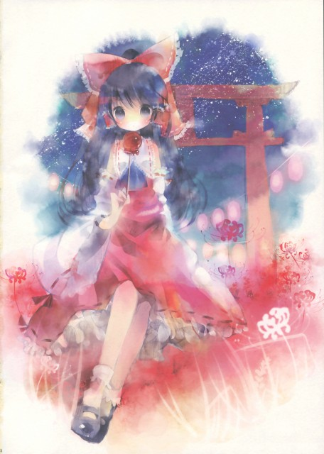 Shimeko, Grand Preview, Touhou, Reimu Hakurei