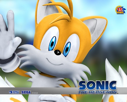 Sega, Sonic the Hedgehog, Miles Prower, Official Wallpaper