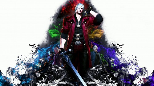 Madhouse, Capcom, Devil May Cry, Vergil, Nero Wallpaper