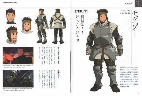 Mieko Hosoi, A-1 Pictures, Hai to Gensou no Grimgar, Moguzo, Character Sheet