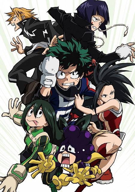 Kouhei Horikoshi, BONES, Boku no Hero Academia, Izuku Midoriya, Denki Kaminari