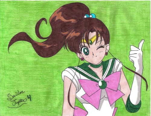 Toei Animation, Bishoujo Senshi Sailor Moon, Sailor Jupiter, Member Art